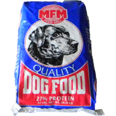 Dog Food, MFM 27-10 (blue bag)