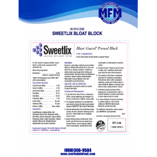 Bloat Block, Type C Medicated (Sweetlix)
